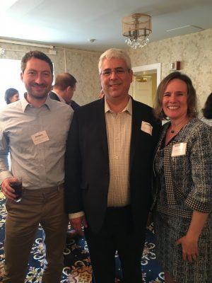 Johannes Haushofer, Rabbi Adam Feldman, Carolyn Biondi