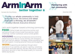 Arm in Arm Year End Newsletter