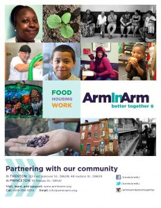 front cover of 2016 Arm In Arm annual report