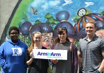 Arm In Arm interns and summer student workers
