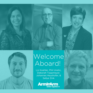 new 2018 Arm In Arm board members