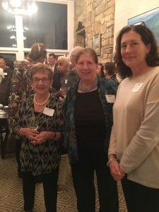 Nancy Richardson, Ann Zultner, Margaret Cowell