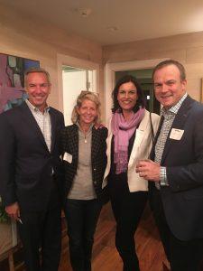 Peter & Lauren Fasolo, Jane & Stuart Henderson